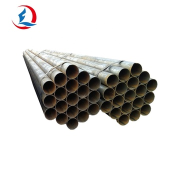 Oiled Or Galvanized ERW Welded Steel Pipe For Steel Structure