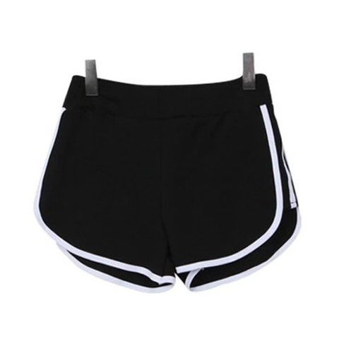 black cotton shorts for girls