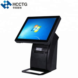 "12.1"" LCD Retail Pos System All in one Touch Screen POS Terminal HZQ-P1088"