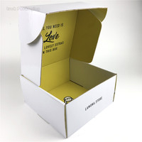 Custom Printed Logo Strong Cardboard Large Postal Boxes Mailer Order Retail Products Packing Shipping Box