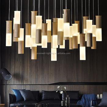 Promotion Factory Price Decorative Wood Acrylic Hotel Tube