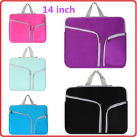14 Inch Laptop Sleeve Ultra-Portable Fashion Laptop Bag Neoprene Material