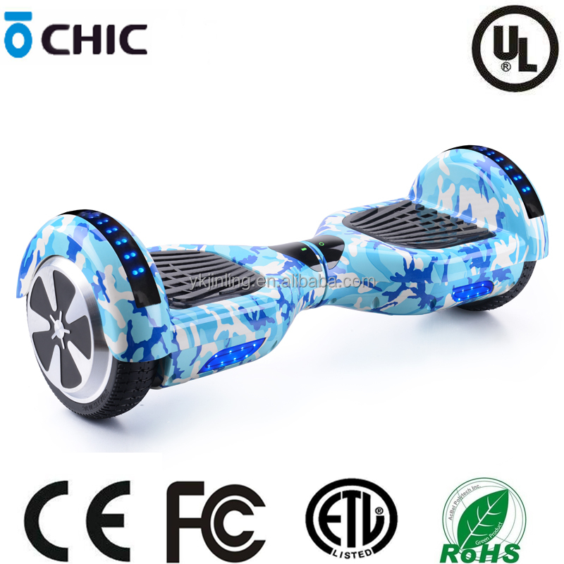 yong kang smart good design 2 wheel 6.5 inch with bluetooth electric hoverboard scooter