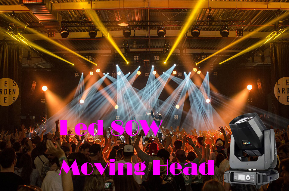 Newest 80w Led Moving Head Beam Spot Wash Light 16/20 Channel 14 colors 12  gobos patterns, View 80w led beam, DNALIGHT Product Details from Guangzhou