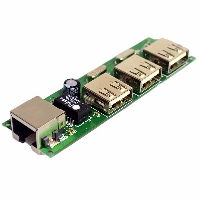 Manufacturer Rj45 Online Usb Hub Prototype Pcb Network Soldering ...