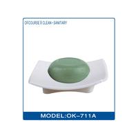 Funny colored plastics bathtub shape soap dish for bathroom