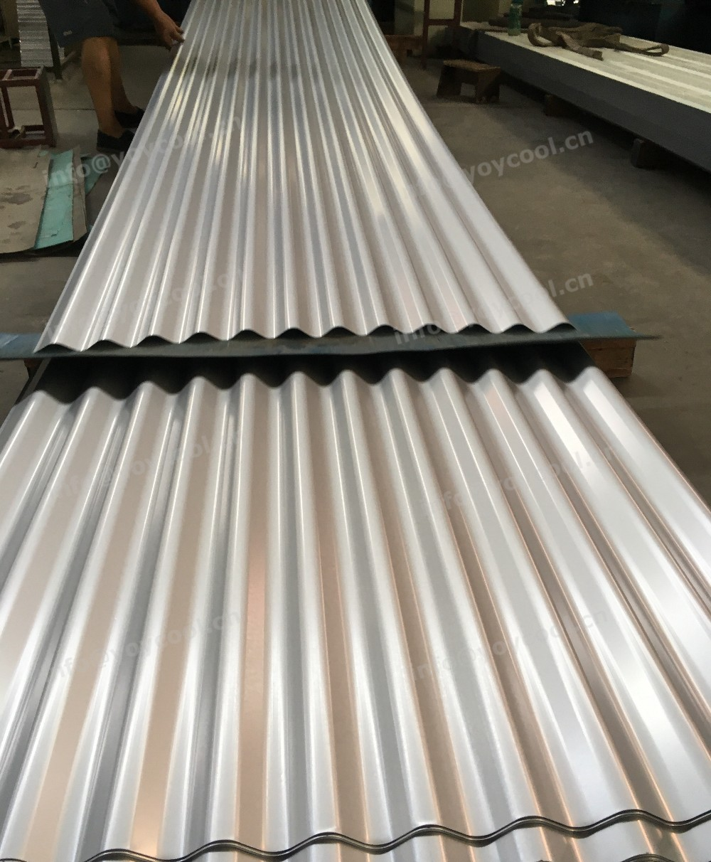Yoycool Galvanized Corrugated Steel 4ft X 8ft Corrugated
