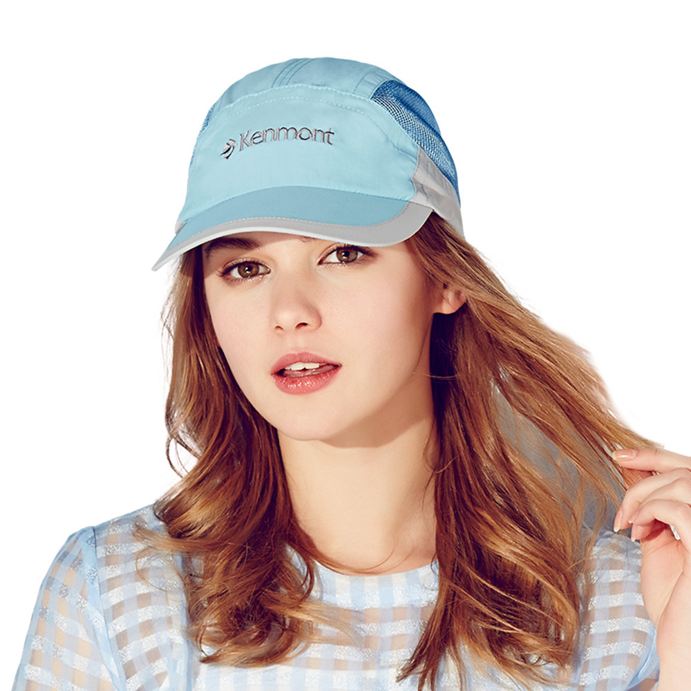 Brand Kenmont Spring Summer Women's Baseball Cap Outdoor Sports Sun Unti-UV Quick-dry Hat Visor Running Golf Tennis Caps 3109
