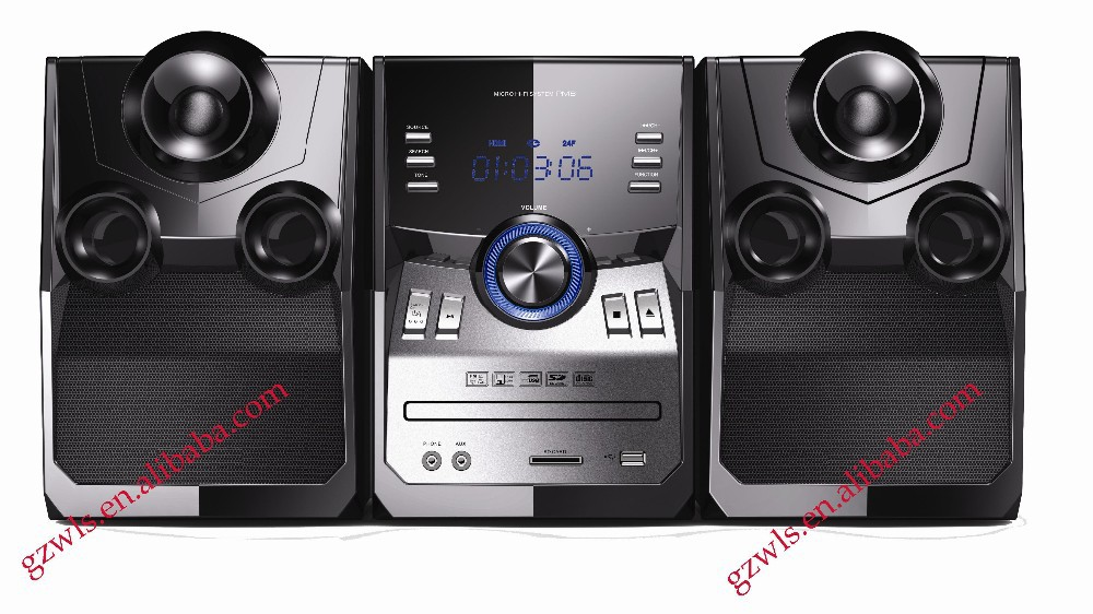 Good sound MiNi Bluetooth speaker system TMD-800DOC Portable DVD Player with Bluetooth FM AM USB SD
