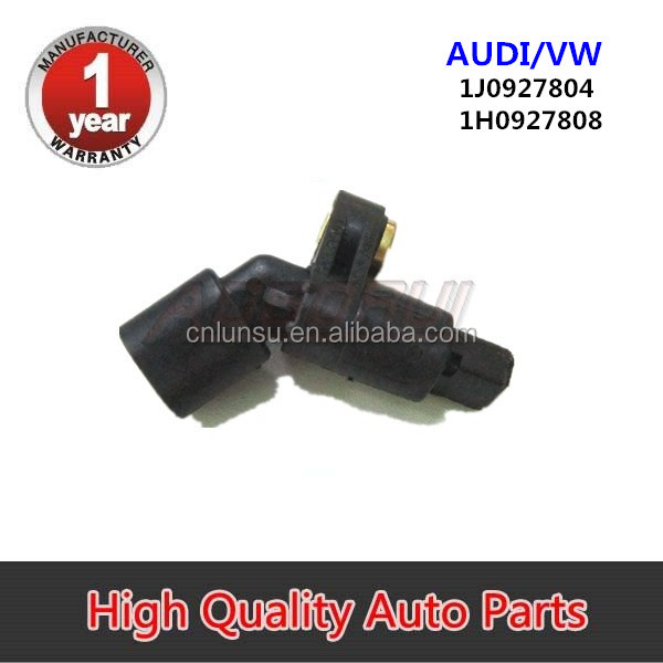 VW POLO ABS Sensor Front Right 94 to 02 Wheel Speed Bosch 1H0927808 1J0927804