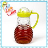 Oil and Vinegar Bottle Unique Shape Glass Oil Dispenser