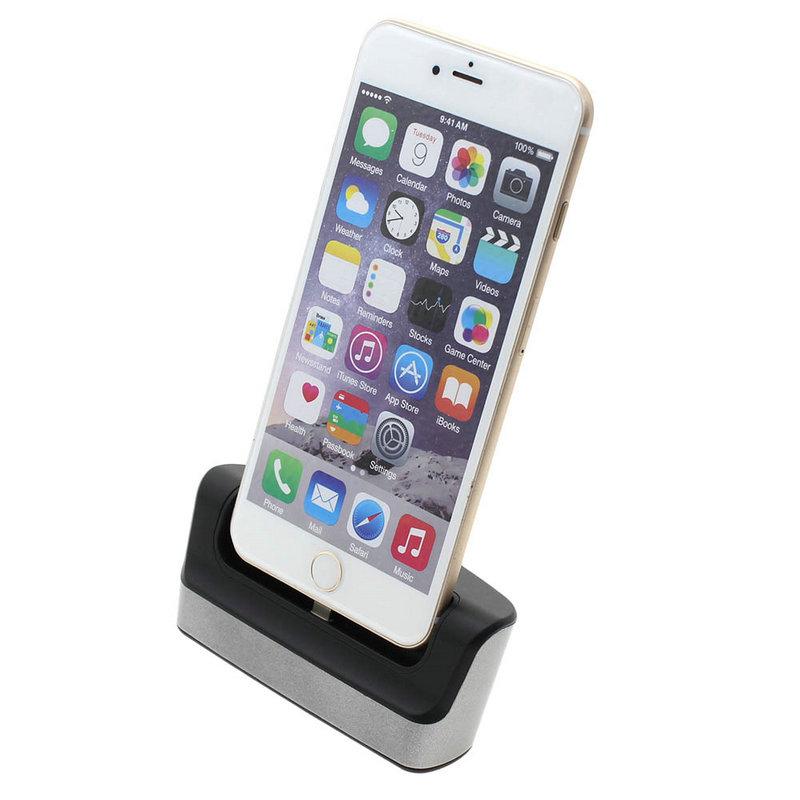iphone 6s ladestation iphone 6 dock station ladestation. Black Bedroom Furniture Sets. Home Design Ideas