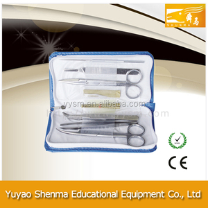 Cheap Price General Surgical 7 pcs Dissecting Set For Medical Students