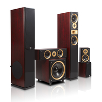 good looking 5.1 new appearance passive speakers for home theater use