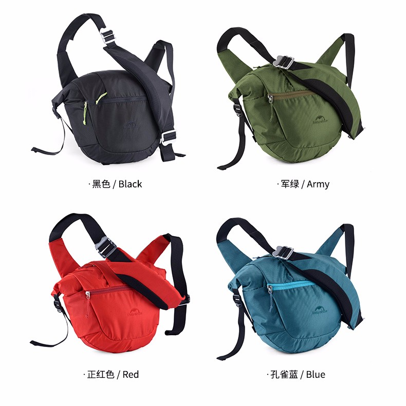 11d59c28d617 Naturehike NH Men and Women City Casual 8L Single Shoulder Chest Messenger  Bag with Multi-function for Outdoor Sports ...