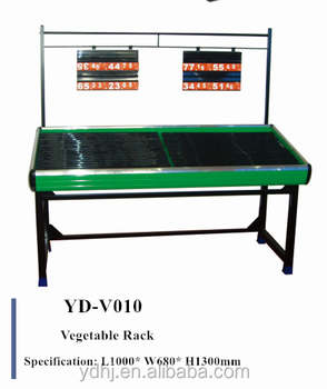 Popular Best quality fruit vegetable display rack With good design