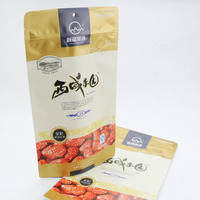 China Supplier dried fruit vacuum bag stand up zipper