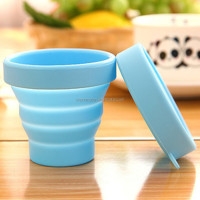 Portable Silicone Foldable Travel Cup Washing Cup