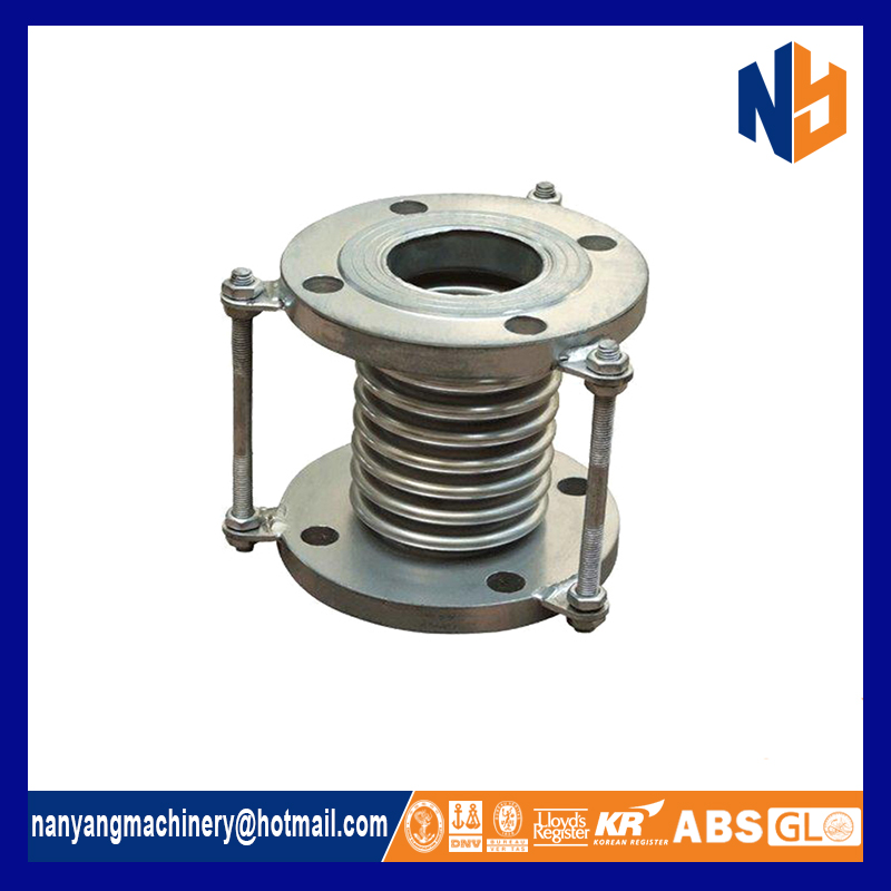Stainless steel metallic compensator custom expansion joint
