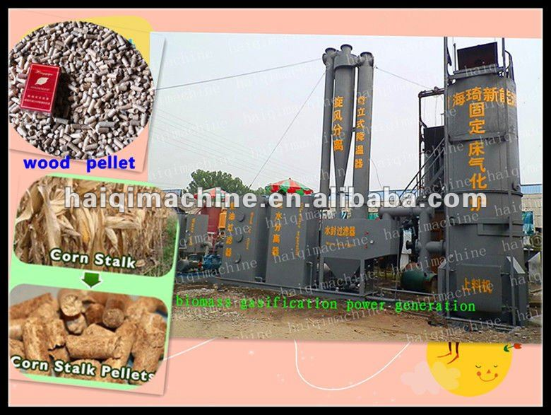 Biomass gasifier furnace for city waste