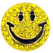 Happy Face Smiley Crystal Lapel Pin brooch rhinestone happy face brooch