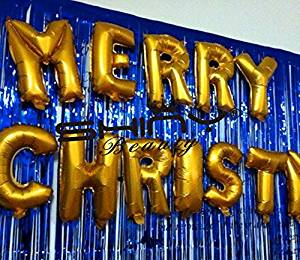 get quotations foil fringe curtain 9ftx8ft royal blue hanging backdrop blue photo booth curtain - Royal Blue And Gold Christmas Decorations
