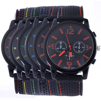 Wholesale Men Causal SPORT Military Pilot Army Silicone Watches RW003