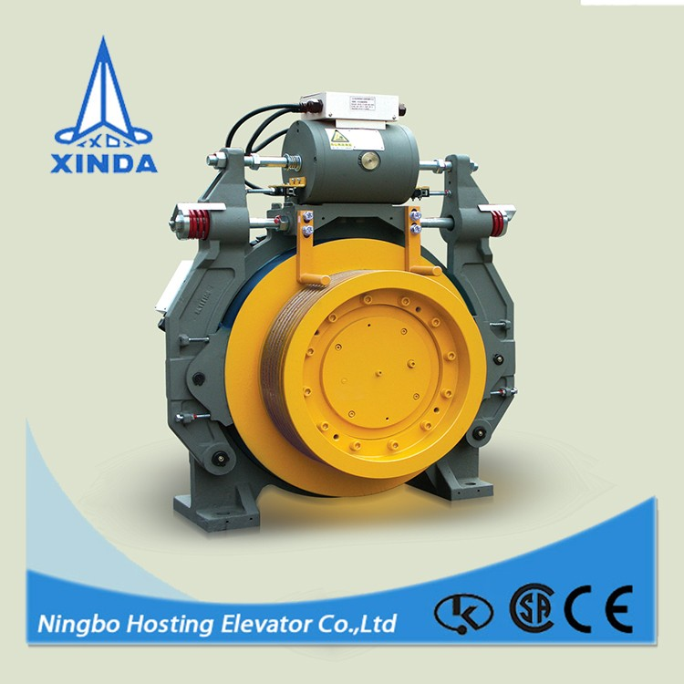 Safe and Energy Saving lift gearless elevator motor