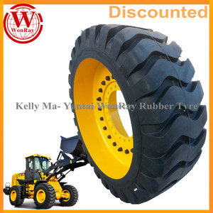 17.5-25 17.5x25 17.5 r25 front loader and excavators otr solid tires for sale