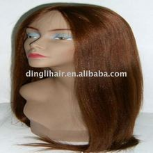 mooie goedkopere indische remy yaki staight& lace front pruik