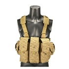 Yakeda tiger camo outdoor ak airsoft hunting army surplus military combat training vest harness chest rig with ammo pouches