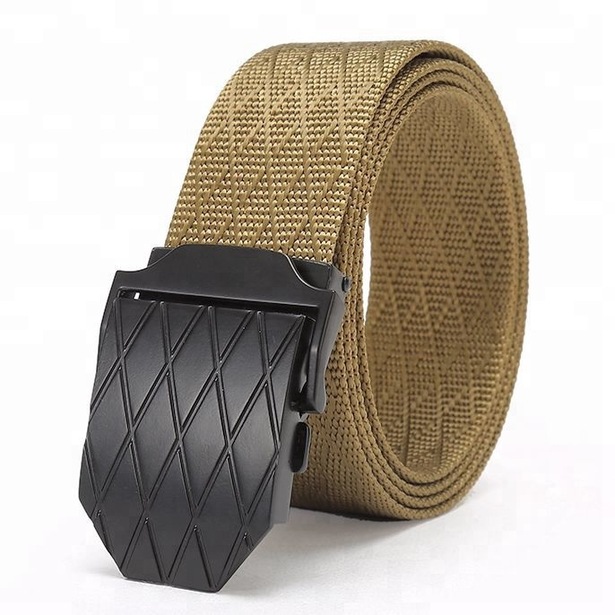 wholesale New nylon belt wild outdoor casual belt hypoallergenic canvas belt for men