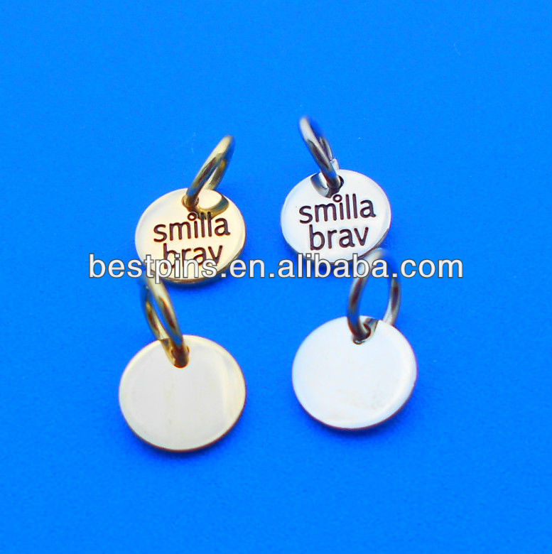 stamped custom engraved metal jewelry tags buy round metal jewelry