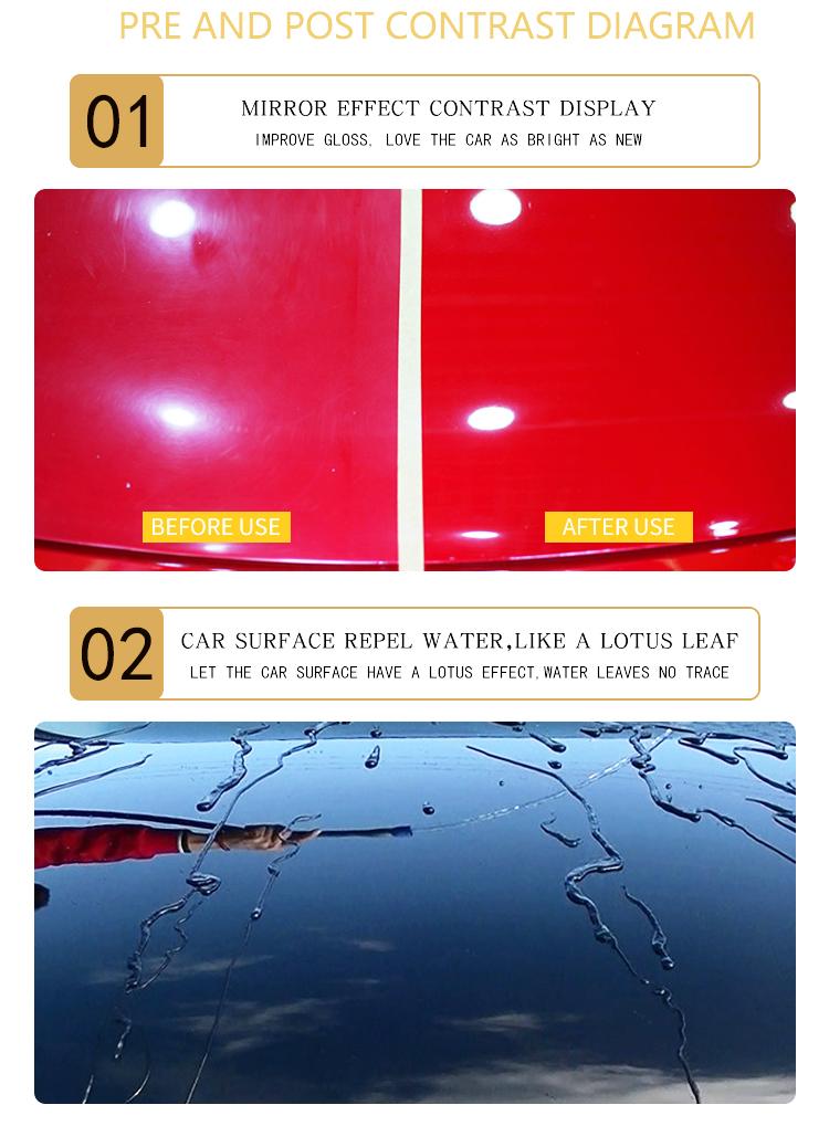 Hktianmei керамическое покрытие краска для автомобиля DIY Зеркало для кузова автомобиля покрытие 9H
