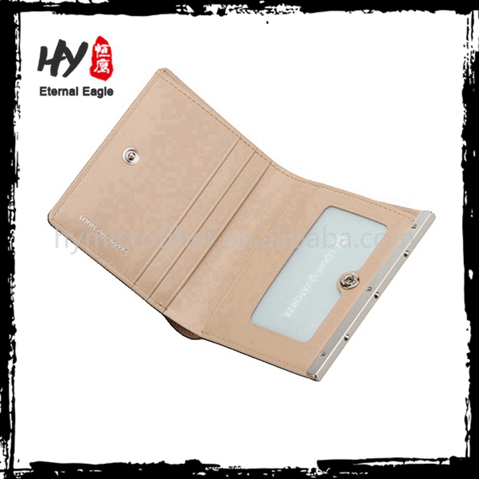 High quality holder chic money clip scalloped wallet
