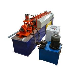 quality and quantity assured automatic intergengibele c & z cold rolling forming color roof tile machine