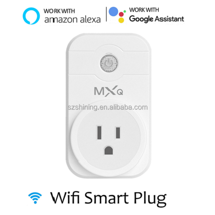 App Remote Control Wifi Smart Plug /Socket work with Amazon Alexa echo and Google home , USA, EU,AU UK