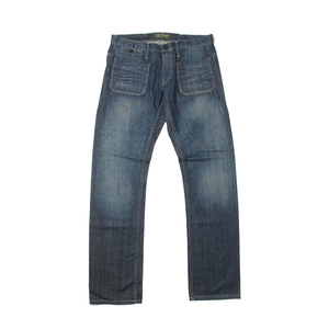 ODM customized fashion men's straight jeans