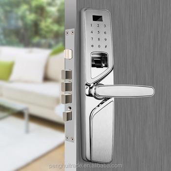 Fingerabdruck Digitale Turschloss Zylinder Push Lock Fernbedienung
