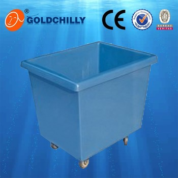 plastic laundry trolley bin laundry carts large plastic bin with wheels - Laundry Carts
