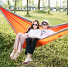 Chinese Factory Wholesale 4 Season type and parachute nylon fabric camping double hammock