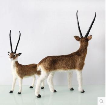 Synthetic Realistic Animals Garden Antelope Toy Buy Garden