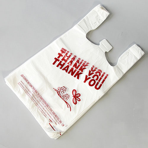 Outstanding quality newest durable and reusable gravure printing pe t shirt bags
