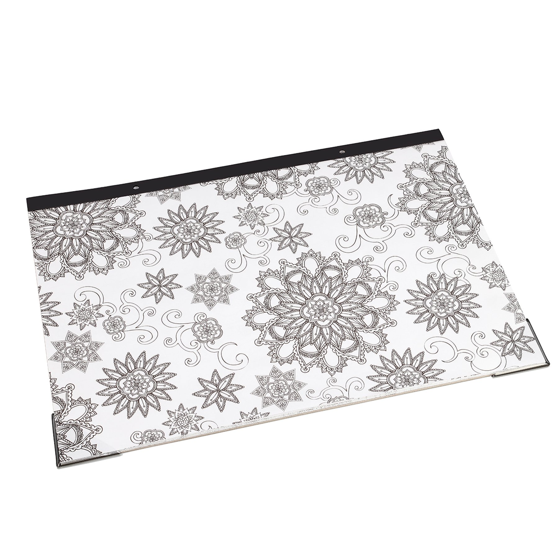 """Artistic 12"""" x 17"""" Coloring Desk Pad 