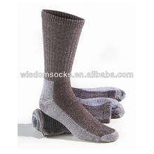 custom high quality mid-calf warm thick work sport crew men wool socks