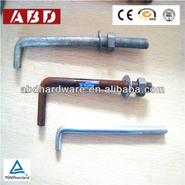 Galvanized Anchor Bolts/Wood Anchor Bolt Factory