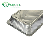 Oven safe baking cake antique aluminum foil serving disposable metal tray