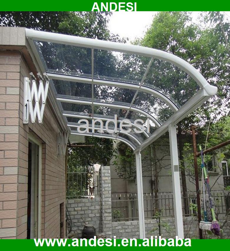 Bricolage porte auvent pour patio housse de pluie auvents id de produit 60071368862 french for Comauvent de porte de garage