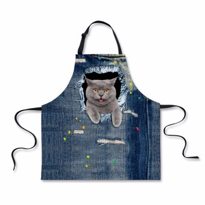 Art Apron for Adults Painting Design Kitchen Poly/cotton Blend Adult Bibs New Products