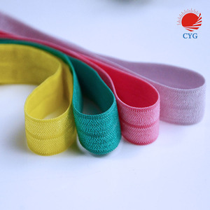 1/8 Fold Over Elastic Material, Headband Material, Elastic by the Yard